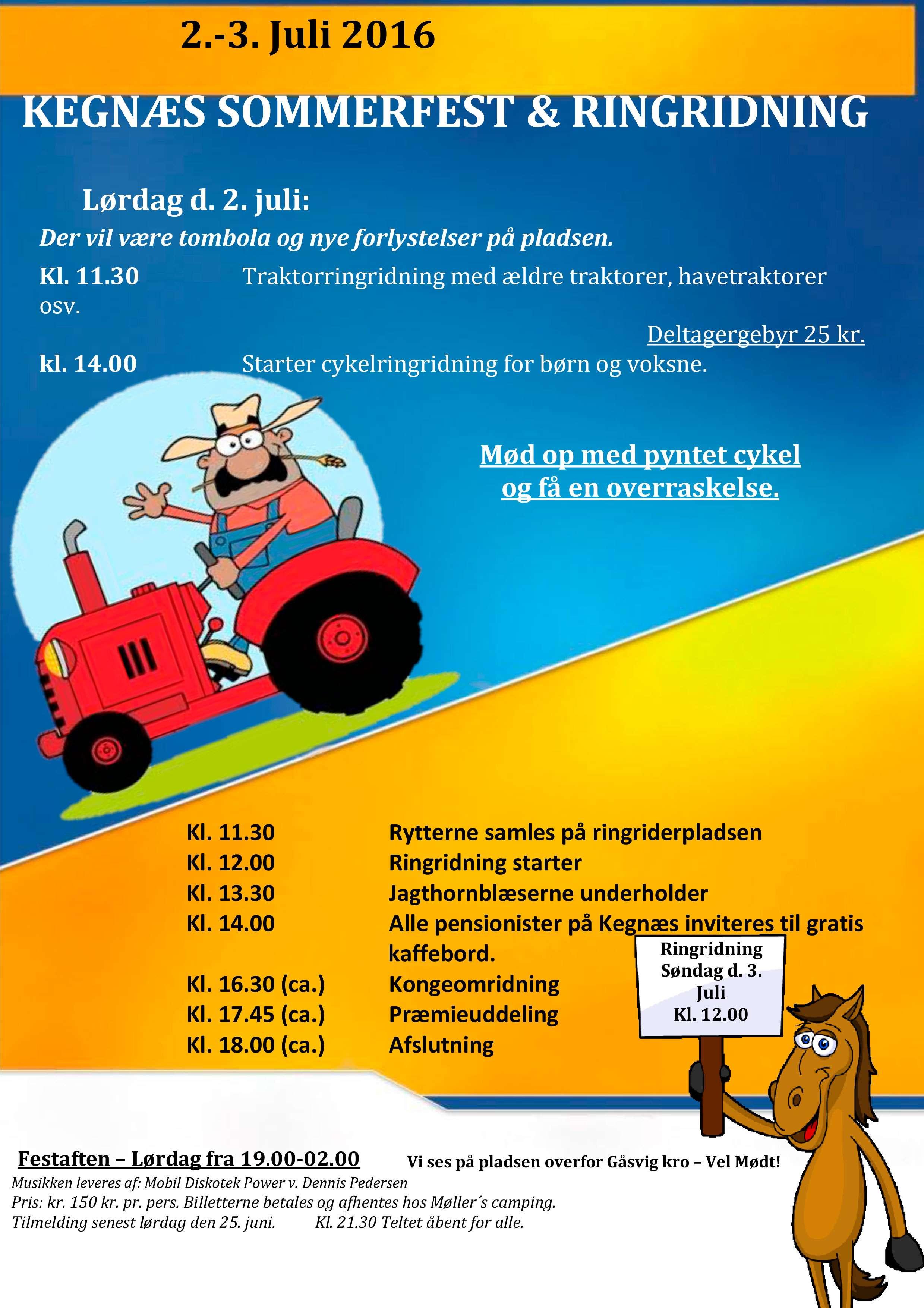 Kegnæs Sommerfest Og Ringridning Velkommen Til Kegnæs