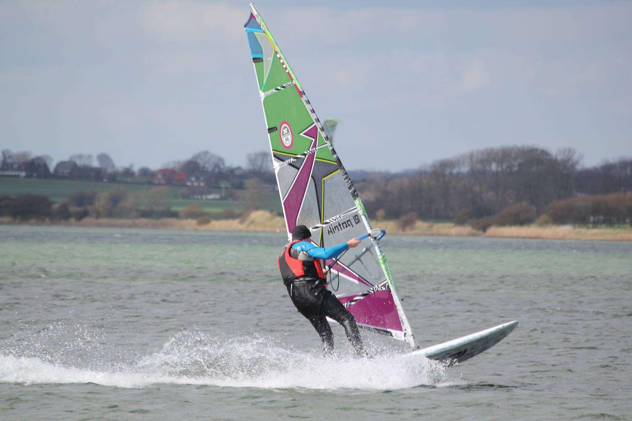 Windsurfing på Kegnæs